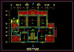 نقشه معماری ویلایی دوبل جدید